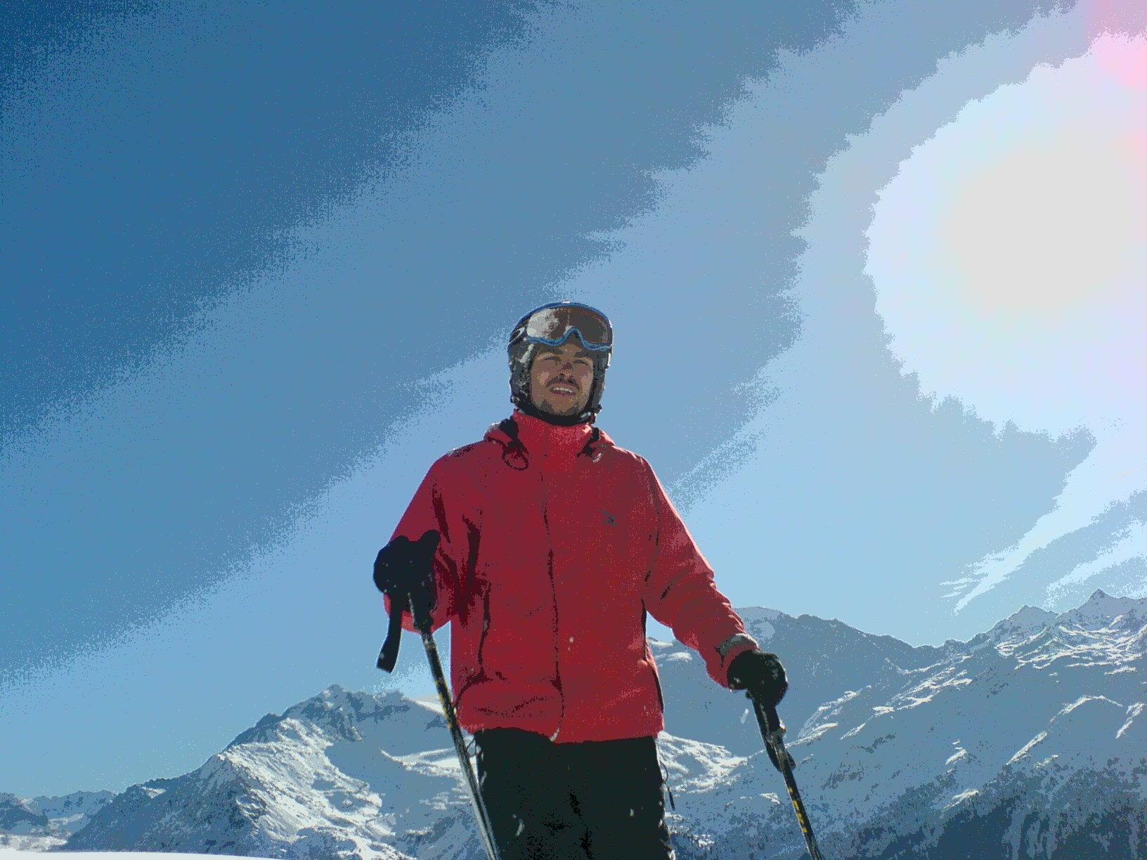 Skiurlaub da wo die Promis auch auf den Brettern stehen