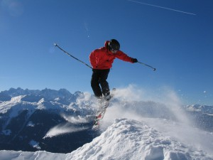 Skilehrer Theiss in Verbier