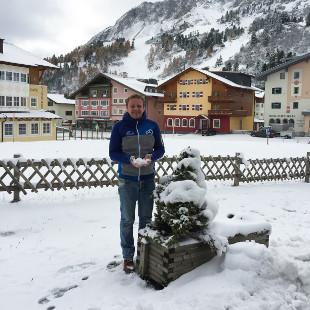 Im Skiurlaub in Obertauern vom Bett direkt auf die Piste