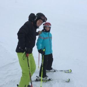 Albrecht Zeisler und Tochter