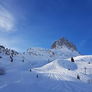 Sonnenterrasse Braunwald Skigebiet