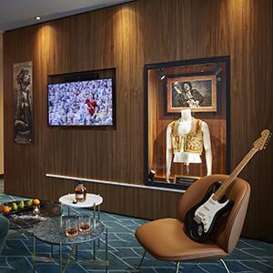 Hard Rock Hotel Davos - Rock-Ausstellung
